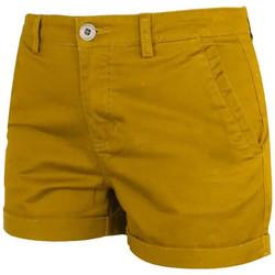 Vêtements Femme Shorts / Bermudas Waxx Short Chino BOMBA Jaune Moutarde