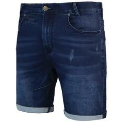 Vêtements Homme Shorts / Bermudas Waxx Short Joggjean MANHATTAN Bleu Brut
