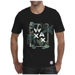 Vêtements Homme T-shirts manches courtes Waxx T-shirt MONKEY Noir