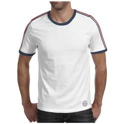Vêtements Homme T-shirts manches courtes Waxx T-shirt COLORS BANDS Blanc