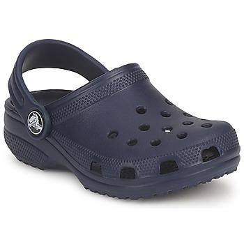 Schuhe Kinder Pantoletten / Clogs Crocs CLASSIC KIDS Marineblau