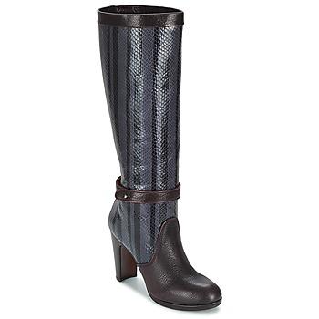 Schuhe Damen Klassische Stiefel Chie Mihara NERVE Auberginenfarben