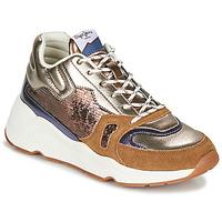 Schuhe Damen Sneaker Low Pepe jeans HARLOW SPACE Bronze