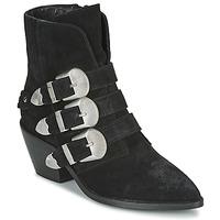 Schuhe Damen Boots Pepe jeans WESTERN W BUCKLE