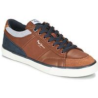 Schuhe Herren Sneaker Low Pepe jeans KENTON SPORT Braun,