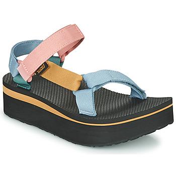 Schuhe Damen Sandalen / Sandaletten Teva FLATFORM UNIVERSAL Bunt