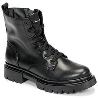 Schuhe Damen Boots Bullboxer 610504E6L_BKC