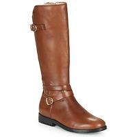 Schuhe Mädchen Klassische Stiefel Acebo's 9863-CUERO-T Braun,