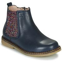 Schuhe Mädchen Boots Acebo's 5274-MARINO-J Marineblau