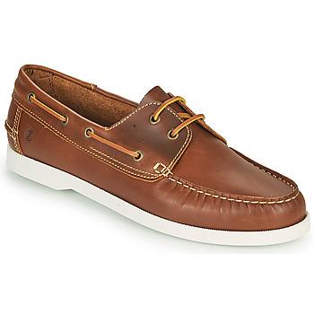 Schuhe Herren Bootsschuhe Casual Attitude REVORO Braun,