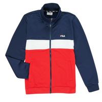 Kleidung Jungen Trainingsjacken Fila MANOLO Marineblau / Weiß / Rot