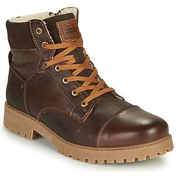 Chaussures Garçon Boots Bullboxer ALL518E6LA-BRWN