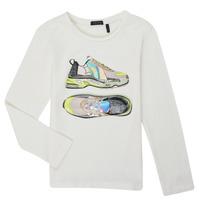 Vêtements Fille T-shirts manches longues Ikks XR10172