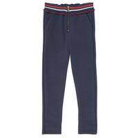 Kleidung Mädchen 5-Pocket-Hosen Ikks XR23002 Blau