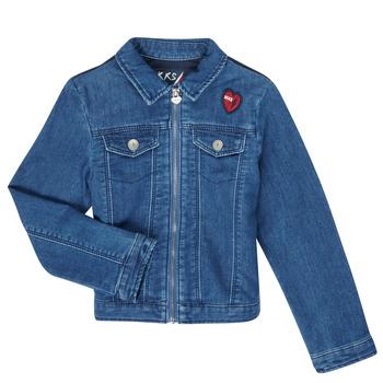 Vêtements Fille Vestes en jean Ikks XR40052