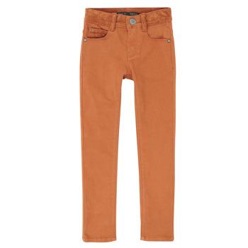 Kleidung Jungen Slim Fit Jeans Ikks XR29013 Braun,