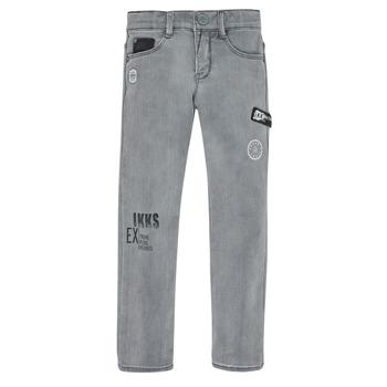 Kleidung Jungen Slim Fit Jeans Ikks XR29123 Grau