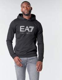 Vêtements Homme Sweats Emporio Armani EA7 TRAIN VISIBILITY M HOODIE RN COFT Noir