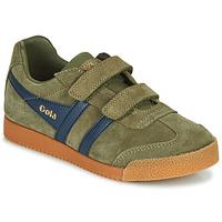Schuhe Kinder Sneaker Low Gola HARRIER VELCRO