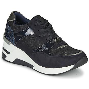 Chaussures Femme Baskets basses Tom Tailor 92610-BLEU