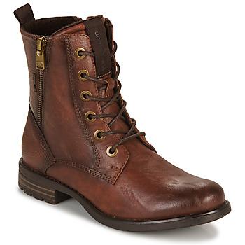 Chaussures Femme Boots Tom Tailor 93303-COGNAC