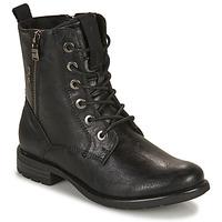 Chaussures Femme Boots Tom Tailor 93303-NOIR