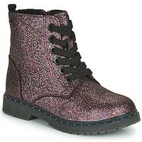 Schuhe Mädchen Boots Tom Tailor 71004-VIOLET-C