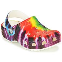 Schuhe Kinder Pantoletten / Clogs Crocs CLASSIC TIE DYE GRAPHIC CLOG K