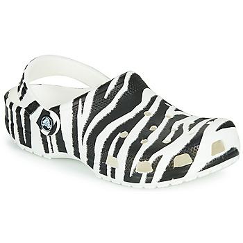 Schuhe Damen Pantoletten / Clogs Crocs CLASSIC ANIMAL PRINT CLOG