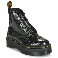 Chaussures Femme Boots Dr Martens SINCLAIR Noir Croco
