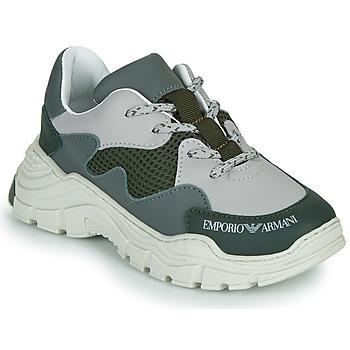 Chaussures Enfant Baskets basses Emporio Armani XYX008-XOI34