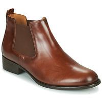 Schuhe Damen Low Boots Gabor 5164020 Kamel