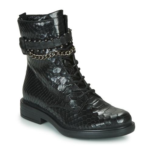 Schuhe Damen Boots Mjus CAFE SNAKE