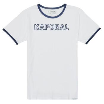 Kleidung Jungen T-Shirts Kaporal ONYX Weiß