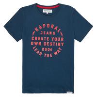 Kleidung Jungen T-Shirts Kaporal ORVAL Marineblau