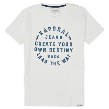 Vêtements Garçon T-shirts manches courtes Kaporal ORVAL