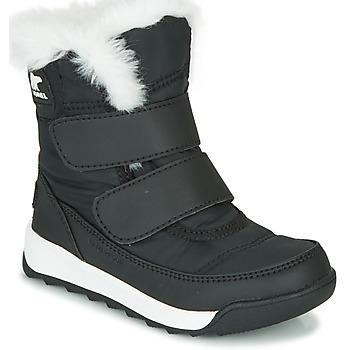 Chaussures Enfant Boots Sorel CHILDRENS WHITNEY II STRAP Noir