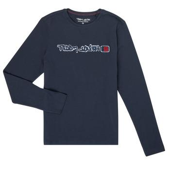 Vêtements Garçon T-shirts manches longues Teddy Smith CLAP