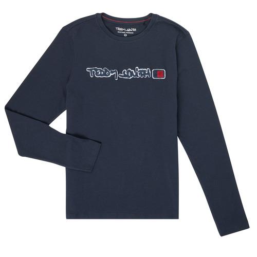Abbigliamento Bambino T-shirts a maniche lunghe Teddy Smith CLAP