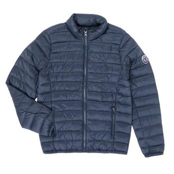 Kleidung Jungen Daunenjacken Teddy Smith BLIGHT Marineblau