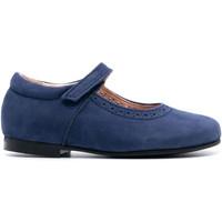 Chaussures Fille Ballerines / babies Boni & Sidonie Babies en cuir à scratch - MINI Blandine Bleu