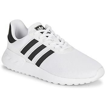 Schuhe Kinder Sneaker Low adidas Originals LA TRAINER LITE J Weiß