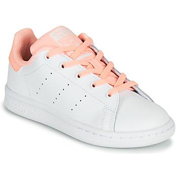 Schuhe Mädchen Sneaker Low adidas Originals STAN SMITH C Weiß