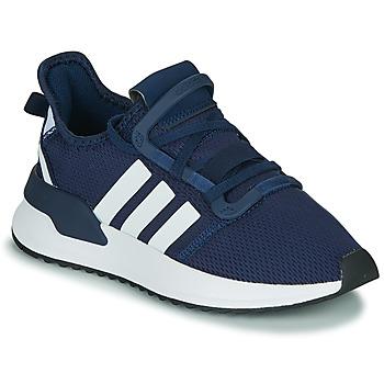 Schuhe Jungen Sneaker Low adidas Originals U_PATH RUN J Marineblau / Weiß