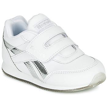 Chaussures Fille Baskets basses Reebok Classic REEBOK ROYAL CLJOG Blanc / Argent