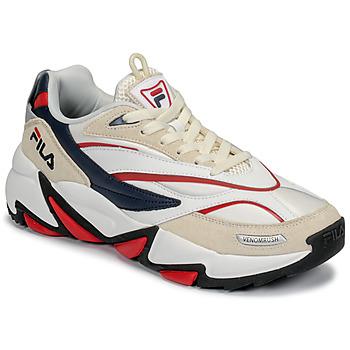 Schuhe Herren Sneaker Low Fila RUSH Weiß / Beige / Rot