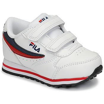 Scarpe Unisex bambino Sneakers basse Fila ORBIT VELCRO INFANTS