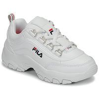 Schuhe Mädchen Sneaker Low Fila STRADA LOW KIDS Weiß