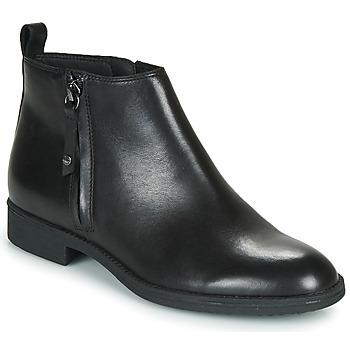Chaussures Femme Bottines Geox JAYLON Noir