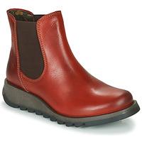 Schuhe Damen Boots Fly London SALV Rot
